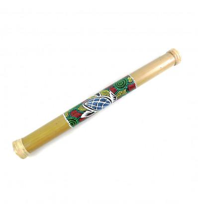 Bastone della pioggia 50cm di bambù. Bastone della pioggia mestiere.
