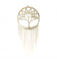 Decoration wall bohemian. Tree of life macrame. H115cm