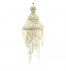 Chandelier Seashells Deco Exotic Craft Fair and 100cm