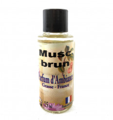 Extract air freshener, Scent Musk Brown, Manufactured in Grasse