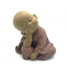 Figurina piccolo Buddha pensatore 12cm.