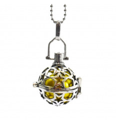 Jewel for pregnant woman : necklace and pendant with bola pregnancy