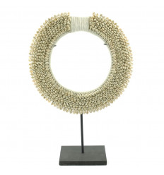 African Ethnic Collar Cowrie Shell ø30cm