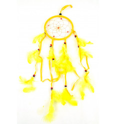Giant dream catcher / catcher-nightmare 45x12cm - Yellow Fun