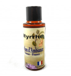 Extract air freshener, Fragrance Myrrh, made in Grasse, France
