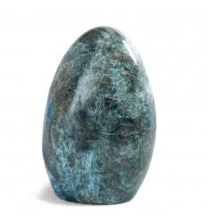 Blue Apatite from Madagascar free-Form. Unique piece Rare 958g