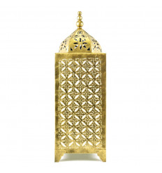 Lamp Oriental Golden Wrought Iron Craft 50cm Deco Moroccan