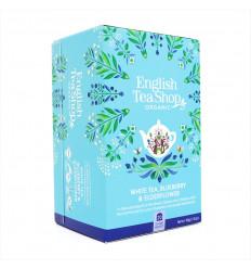 Tè Bianco Mirtillo Sambuco Negozio di Tè Inglese, Certificato Biologico Fair Trade senza OGM