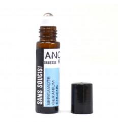 Roll-On Anti-Stress Essential Oils 10ml Bergamot Geranium Incense