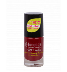 Organic and Vegan Nail Polish 5ml - Cherry Red - Benecos
