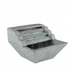 Indoor fountain modern appearance of natural stone, silent.