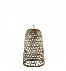 Sospensione in rattan e bambù Modello Ubud ø18cm - Creazione artigianale