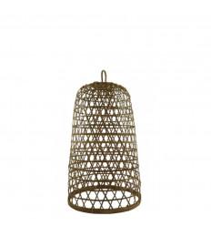Suspension en Rotin et Bambou Modèle Ubud ø22cm - Création artisanale