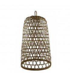 Sospensione in rattan e bambù Modello Ubud ø30cm - Creazione artigianale