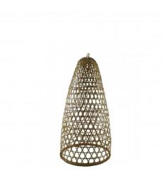 Sospensione in rattan e bambù modello Jimbaran 48cm - Creazione artigianale