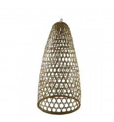 Rattan and Bamboo Suspension Jimbaran Model 59cm - Handcrafted creation
