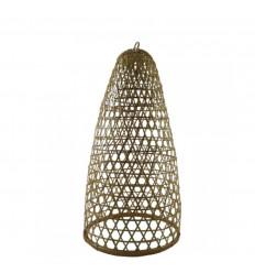 Suspension en Rotin et Bambou Modèle Jimbaran 59cm - Création artisanale