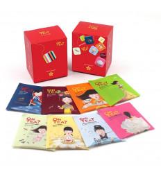 Tasting Box Teas and Infusions Premium Bio 8 Varieties Gold Tea?