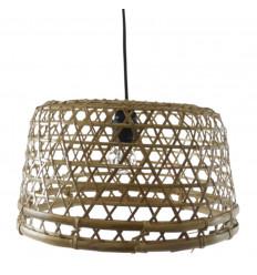Sospensione rattan e bambù - Nusa Dua - Realizzata a mano - di tutte le dimensioni