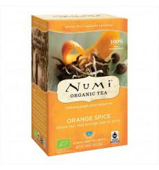 Orange and Organic Spice White Tea - 18 sachets - Numi Tea