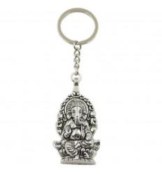 Porte clé Ganesh en métal style ethnique pas cher livraison gratuite.