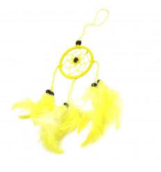 Comprare dreamcatcher giallo economici specchio o sacchetto di gioielli