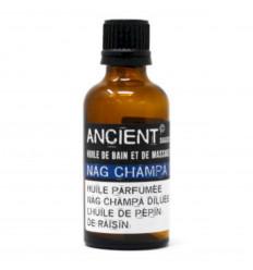 Massage Oil / Bath Oil perfume Nag Champa - 50ml
