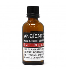 """Massage Oil / Bath Oil """"Awakening of the Senses"""" - 50ml"""