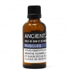 "Massage Oil / ""Muscles"" Bath Oil - 50ml"