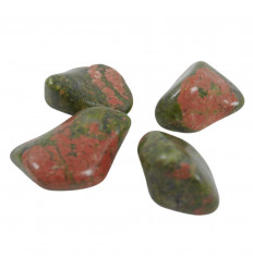 Stones Rolled in Natural Unakite - Rolled Stones 40/50g