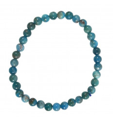 Natural Apatite bracelet - 4mm balls