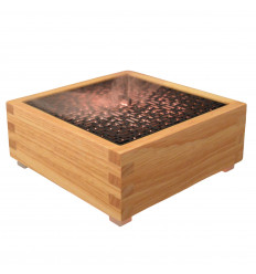 Wood-looking square ultrasonic diffuser - Kaori