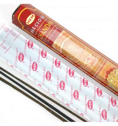 Incense Precious Chandan. Lot of 100 sticks brand HEM