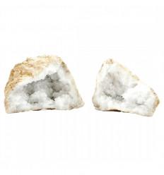 Natural Rock Crystal Geode 200/220g