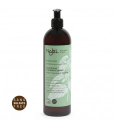 Shampoo soap from Aleppo 500ml cleanser and detangling hair greasy.