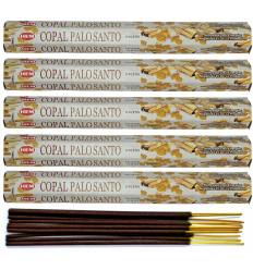 100 Incense Sticks COPAL, Palo Santo details