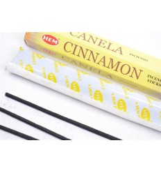 Incense fragrance Cinnamon. Lot of 100 sticks brand HEM