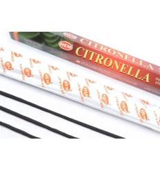 Incenso profumo di Citronella. Lotto di 100 bastoncini marca HEM