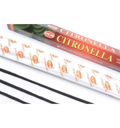 Encens parfum Citronnelle. Lot de 100 bâtonnets marque HEM